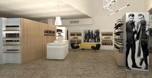 Salon renderings of the new location